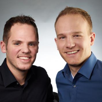 Felix Fähnrich und Carsten Thein